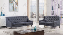 AE2372 Dark Gray Fabric Sofa Set