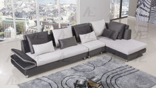 AE-L341 Gray Fabric Sectional