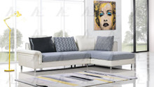 AE-L343 Gray Fabric Sectional
