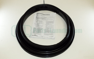 802866P Door Seal Egg Shaped Door Black