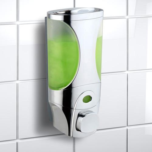 white in p dispensers depot shower the chamber tm soap dispenser home lotion