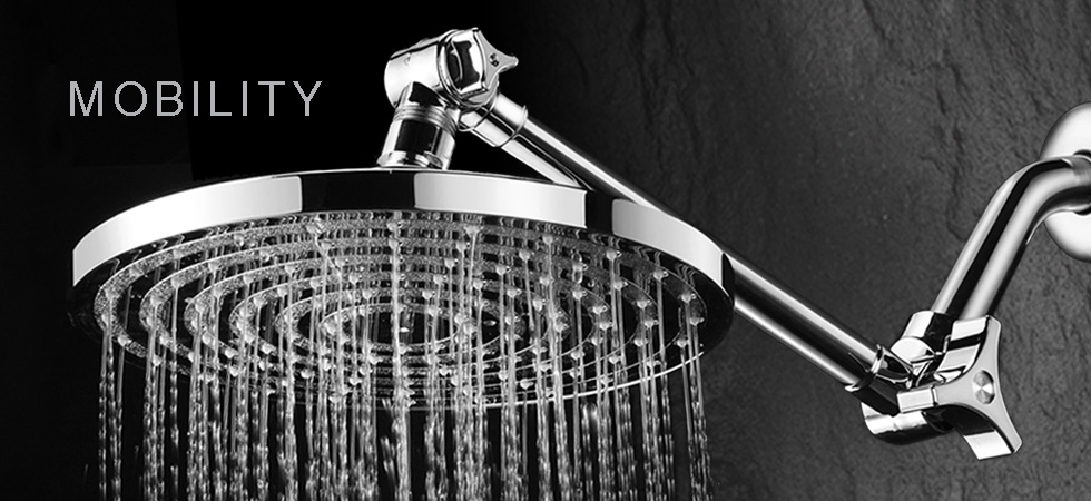High-End Luxury Shower Heads and Handheld Showers For Less