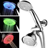 Luminex™ Air-Turbo 7-Color LED 24-Setting Shower Combo