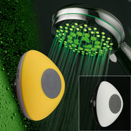 HotelSpa® 7-Setting 7-Color LED Hand Shower with Slimline Waterproof Bluetooth Shower Speaker
