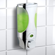 HotelSpa® Curves Luxury Soap/Shampoo/Lotion Modular-Design Shower Dispenser System