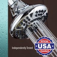 AquaDance® Large Premium 6-Setting Shower Head