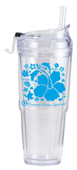 Hibiscus 16oz Double Wall Tumbler