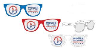 Winter For President Sunglasses