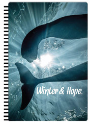Winter & Hope Tails Notebook