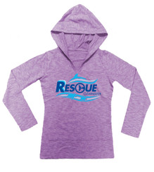 Rescue Wave Girl's Hoodie