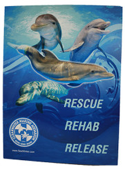 Now, you can take all of our beloved resident dolphins to school with you with this super cute Dolphin Folder, featuring: Winter, Panama, Hope and Nicholas!