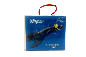 "Want to have a piece of Winter in your home? Pick up this exclusive Dolphin Tale ornament featuring Winter the dolphin and push the button to hear Winter's very own unique ""tweet whistle"". This product is a one of a kind ""sound"" souvenir that makes the perfect holiday gift!"