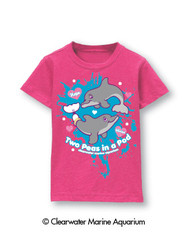 Features: Color - Hot Pink Crew Neck 100% Cotton Soft Hand Ink w/Pink Glitter