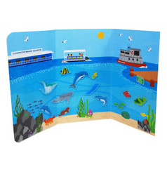 Clearwater Marine Aquarium Peel and Play Adhesive Sticker Set