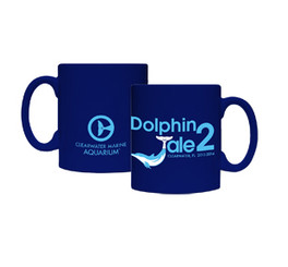 "Dolphin Tale 2 fans get into the all of the ACTION and don't forget to pick up your official ""Dolphin Tale 2 Logo"" mug. Hurry this mug will only be available while supplies last!"