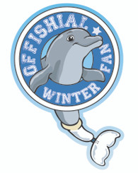 Offishial Winter Fan Decal