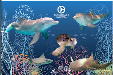 CMA Animal Collage Poster