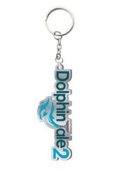 Dolphin Tale 2 Logo Enamel Keychain