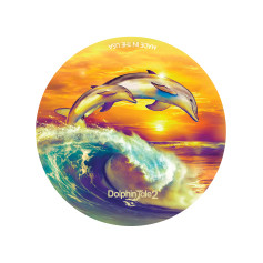 Soul Surfers Round Button