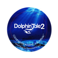 Dolphin Tale 2 Round Button