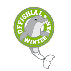 Offishial Winter Fan Enamel Pin