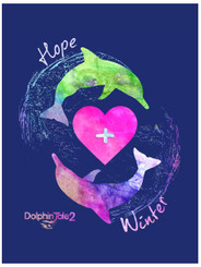 Hope N Winter Rectangle Magnet
