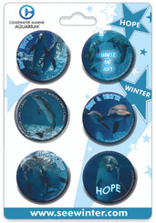 Winter & Hope 6 Button Set