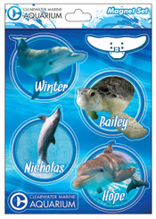 CMA Marine Animal Magnet Set