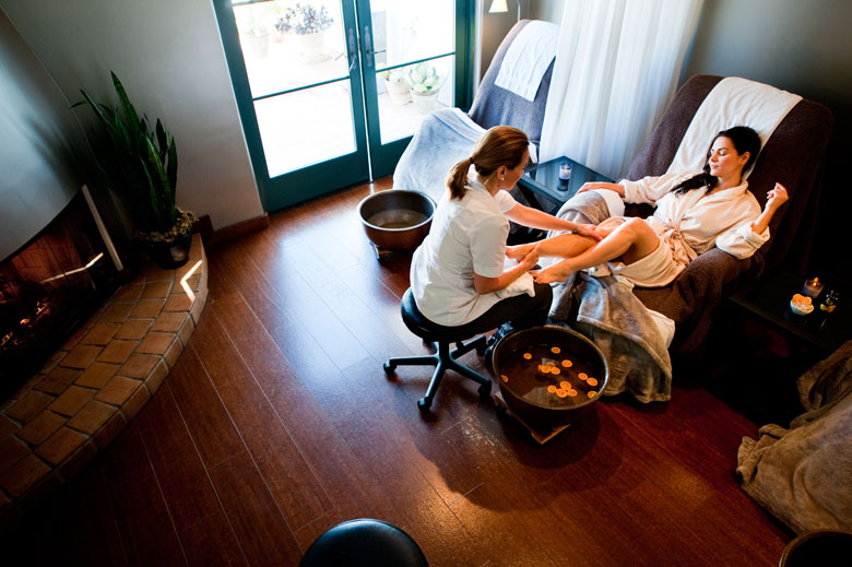 Ojai valley inn spa interview with spa director gloria for Gravity salon