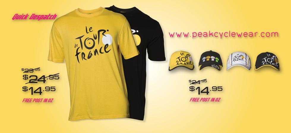 Celebrate le Tour de France with huge Savings