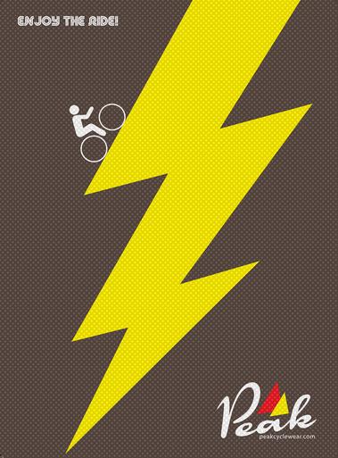Peak A3 Lightning Poster