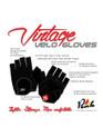 Peak Vintage Velo Gloves Features & Benefits