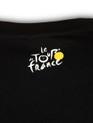 le Tour de France Future Velo T-Shirt in black. Rear logo detail.