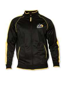 le Tour de France Zip-Thru Jacket in Black