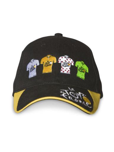 Le Tour de France 'Winners' Cap in black.