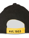 Le Tour de France 'Winners' Cap in black. Rear detail.