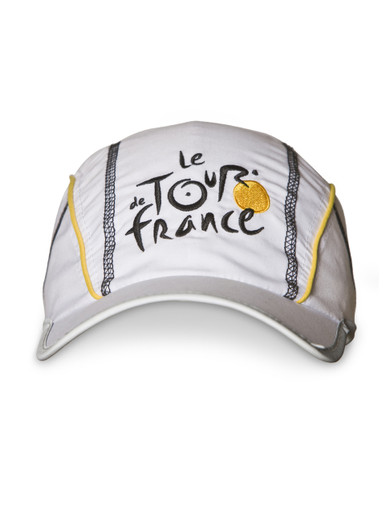 Le Tour de France 'Peloton' Sports Cap in white.