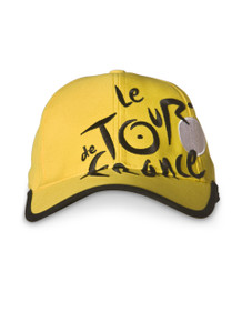 le Tour de France Logo Cap in Yellow