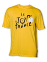 le Tour de France Logo T-Shirt in 'winners' yellow.