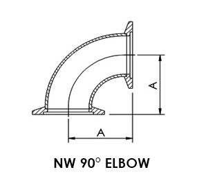 "NW 16 90° Elbow (1.15"")"