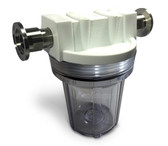"""4.5"""" Clear Sump with NW25 fittings"""