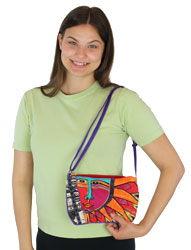 Laurel Burch Celestial Rays Small Crossbody LB5663