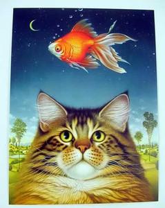 "Cat Friendship Card ""Catatonic"" - FRG44289"