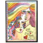 Laurel Burch Collector Cards Friendship Sisters FRL49302