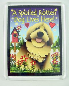 "Dog Magnet ""Spoiled Rotten Dog"" - JP097"