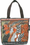 Laurel Burch Moroccan Mares Horse Small Handbag  -  LB2013