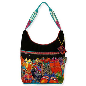 Laurel Burch Fantasticats Medium Scoop Tote Bag LB5233