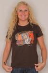 """Laurel Burch 2011 Tee Shirt """"Moroccan Mares"""" - LBT021"""