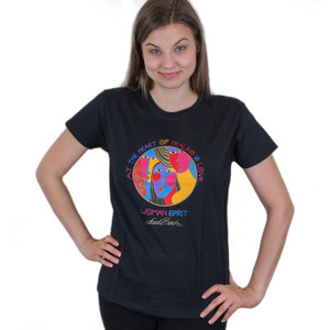 "Laurel Burch Tee Shirt ""Woman Spirit"" LBT022"