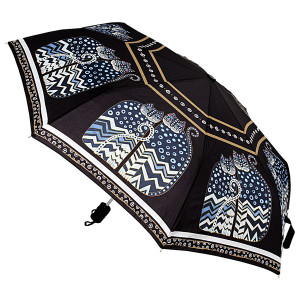 Laurel Burch Compact Umbrella Polka Dot Cats - LBU003A